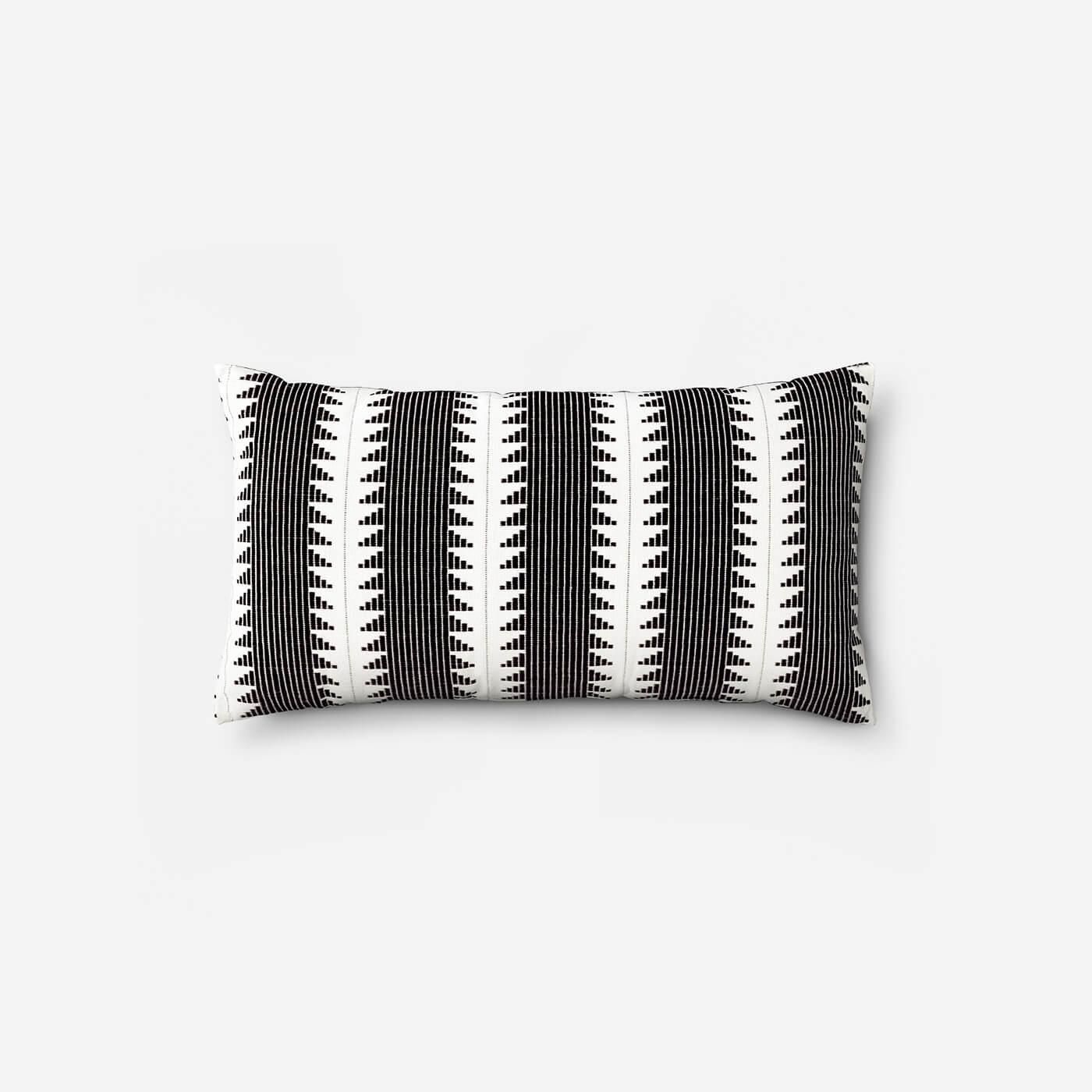 Brushstrokes Woven Throw Pillow. 150x150
